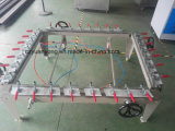 Esticador mecânico da impressão da tela, engranzamento da tela de seda que estica a máquina