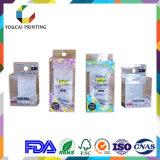 Boîte en plastique transparente de qualité en gros d'usine avec le traitement