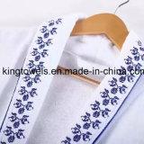 Heißer verkaufenweißer Bademantel der Waffel-100%Cotton für Hotel-Gebrauch