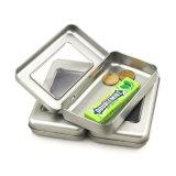Contenitore di stagno del regalo del metallo della scheda del magnete del frigorifero