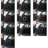 Membre d'un club Chequered F54 (2PC/Set) de Mini Cooper de couverture de bordure de mémoire de joncteur réseau de couleur