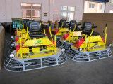 Giro concreto della benzina del macchinario di costruzione sul Trowel di potere (CE) con il sistema di direzione orientabile