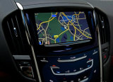 Interfaccia Android del sistema di percorso di GPS dell'automobile video per il ATS del Cadillac