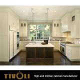 Мебель кухни конструкции Melemine качества проекта кухни бюджети (AP066)