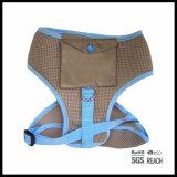 Chicote de fios Running personalizado da veste do engranzamento do cão da segurança com bolso de Poo