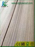 Birma-Teakholz-Furnier-Blattfurnierholz-gerades Korn