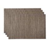 8X8 matéria têxtil clássica Placemat para o Tabletop & o revestimento
