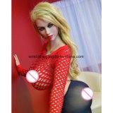 Europese Volledige Doll van de Liefde van de Domoor van Doll van het Geslacht van het Silicone Grote
