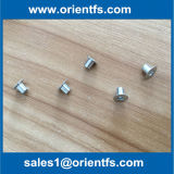 Ribattino di alluminio del rivestimento dei freni dell'acciaio inossidabile per le rotelle