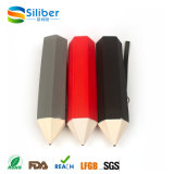 Cadeaux promotionnels Sac portatif pour stylo en silicone pour étudiants