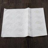 Food-Grade Vetvrije Document van de Verpakking van het Voedsel van de Was voor het Verpakken van het Brood/van de Hamburger