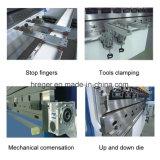 Freno idraulico della pressa del piatto d'acciaio di controllo di Wc67y-200X3200 Nc