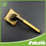 Ручка двери сплава цинка отделки PVD покрынная золотом