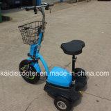 熱い販売500W 3車輪ハブモーター電気移動性のスクーター