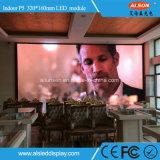 P5 pantalla a todo color fija de alta resolución LED de interior TV