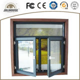 2017 het Openslaand raam van het Aluminium van Lage Kosten