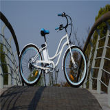 """熱い販売の26 """"女性のための浜の電気バイクの自転車Ebike"""