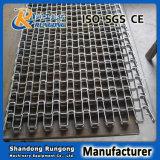 Banda transportadora de herradura de la red de alambre del acero inoxidable