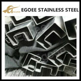 Foll 304 foll 316 Stainless Steel Square Slotted Tube