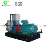 Compresor de lubricante sin aceite del aumentador de presión del gas del propileno