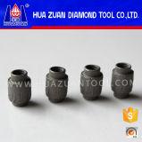 7.2mm 다이아몬드 철사는 Huazuan 다이아몬드 공구에서 윤곽을 그리는 화강암을%s 구슬을 보았다
