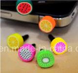 Оптовая милая пыль сотового телефона затыкает анти- штепсельную вилку пыли для Smartphone