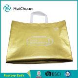 كبيرة حجم ترقيق طباعة نوع ذهب وفضة غير يحاك حقيبة