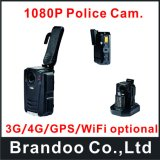 Самая новая камера тела полиций ночного видения 1080P полная HD 4G GPS WiFi иК
