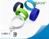 MIFARE DESFire EV2 de Slimme Lange Waaier van de Armband van het Silicone van de Manchet RFID