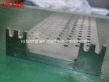 Soem kundenspezifischer CNC-maschinell bearbeitenund schweissendes Teil für mechanische Maschinerie