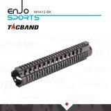 Tacband M16 resistente Quadguard carriles del flotador libre W/Picatinny de 12 pulgadas