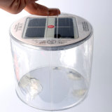 Indicatore luminoso solare gonfiabile impermeabile portatile per accamparsi