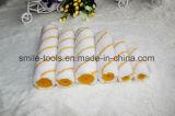 Balai de rouleau de traitement de peinture de mohair de polyester pour la peinture de mur