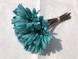 Decoración de seda del hogar del crisantemo de la falsificación de la flor de la flor de la boda de la flor artificial