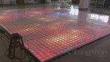 100pixel 결혼식을%s 아크릴 Portable 3D LED 댄스 플로워 위원회