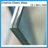 Plano/dobló el vidrio laminado con la certificación de CCC/Ce