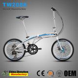 Лидирующий велосипед Bike алюминиевого сплава тарельчатого тормоза 20inch 16speed складывая
