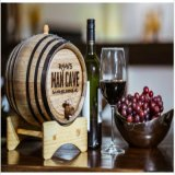 2016 Anillo-Vino superior del barril -5L-Brass del roble de las ventas, acceso