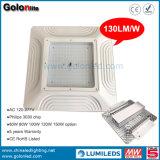 높은 루멘 점화 100개 와트 LED 닫집 빛 100W LED 주유소