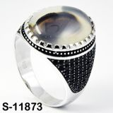 Anel de prata da jóia da venda por atacado 925 da fábrica para o homem