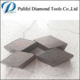 台形の粉砕版で使用されるのための具体的な床の粉砕セグメント