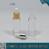 bottiglia di vetro libera a forma di del contagoccia del cilindro 10ml per olio essenziale