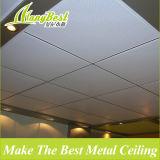Положите в звуконепроницаемой и огнеупорная алюминиевый потолок