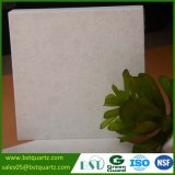 Pedra de imitação de mármore branca artificial de quartzo