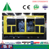 침묵하는 콘테이너 유형 중국 800kVA 디젤 Genset