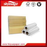 Papel de transferência de sublimação clássica de 100GSM 914 mm * 36 polegadas para têxteis de poliéster
