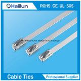 Kugel-Verschluss-Edelstahl-Kabelbinder-Kabelschelle
