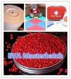 Material plástico masterbatch de pellets de EVA