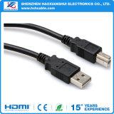 Кабель USB Micro черноты 3FT Shenzhen с Am к микро- USB
