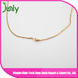 女性の合金のネックレスの方法金の鎖のネックレスデザイン